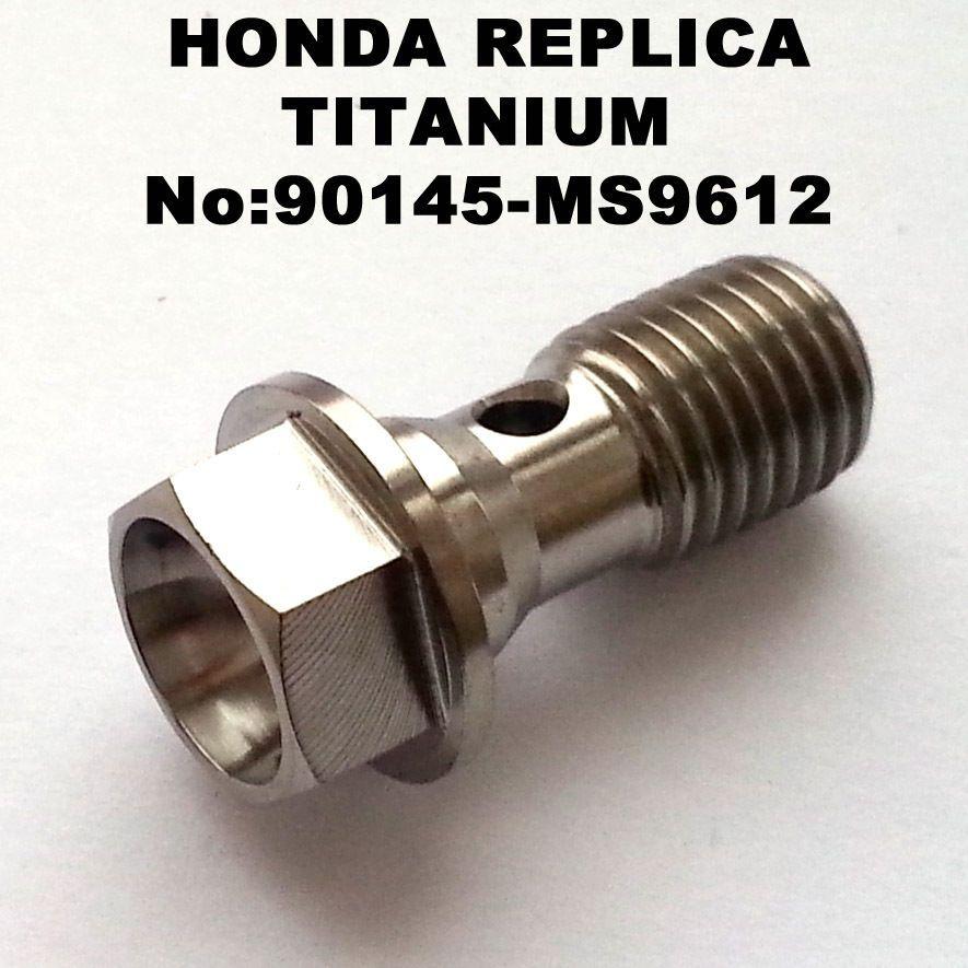Equivalent:90106-KY2-701 CBR1000RR Fireblade TITANIUM fairing bolt