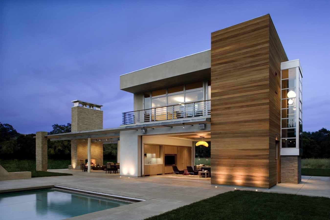fancy house beach house architecture modern. Black Bedroom Furniture Sets. Home Design Ideas