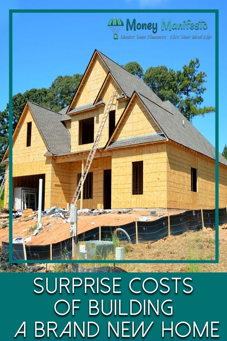 Surprise Costs Of Building A Brand New Home Homeownership Savings