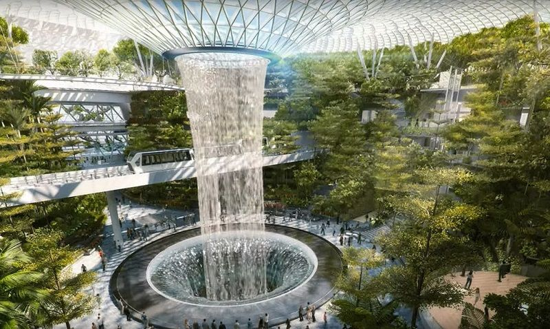 Forest Valley World S Largest Indoor Waterfall Coming To