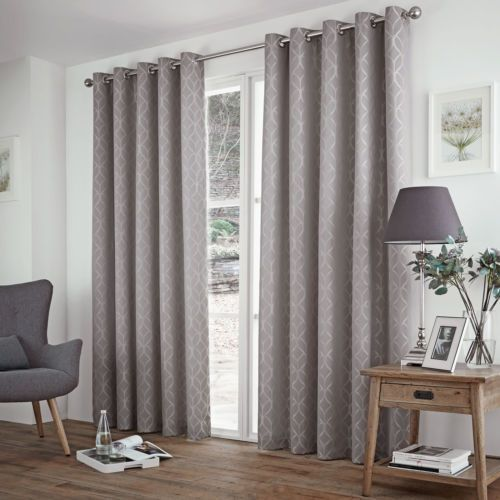 301a0366db3 Modern-Geometric-Jacquard-Thermal-Lined-Blackout-Curtains-Ring-Top-Silver