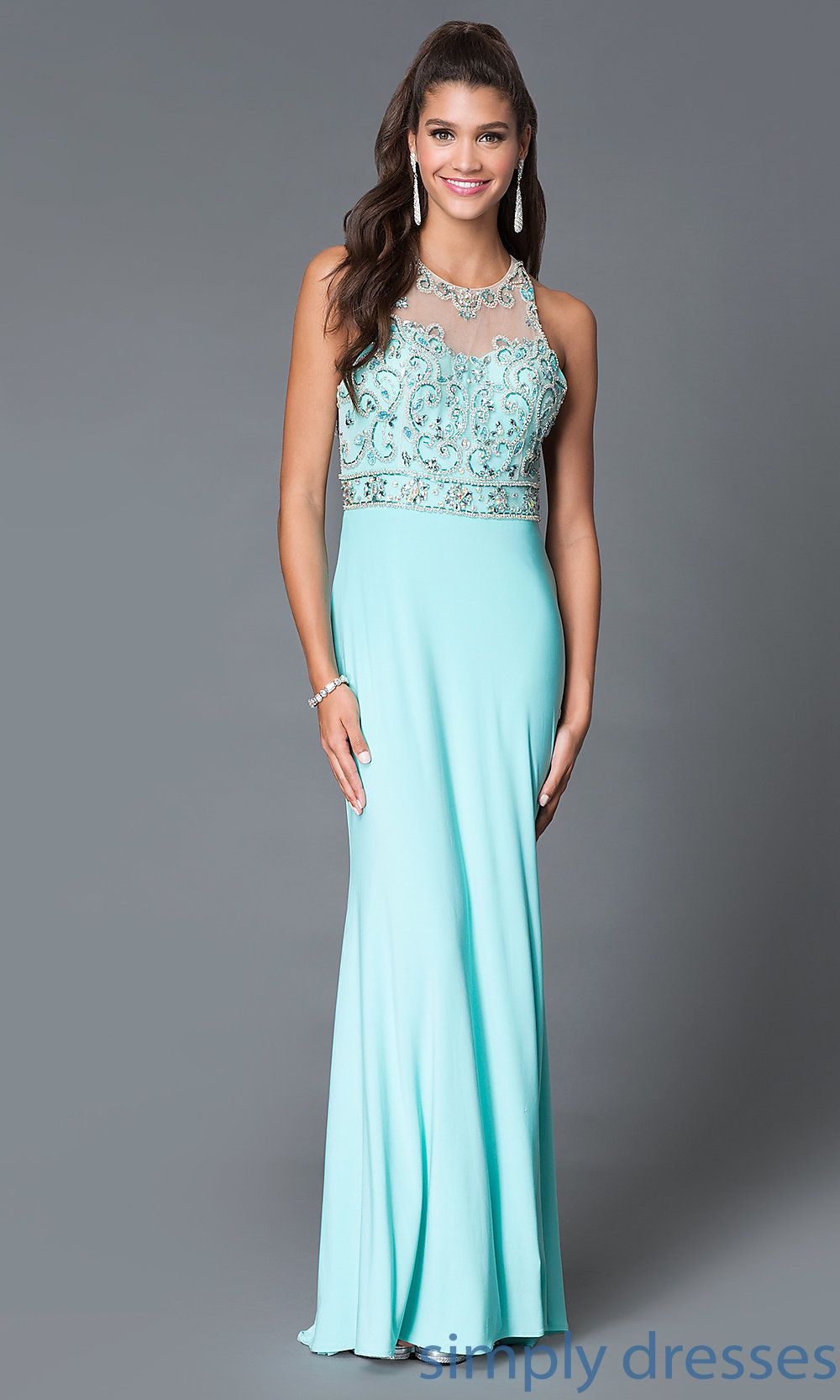 Homecoming Dresses, Formal Prom Dresses, Evening Wear: Long Open ...