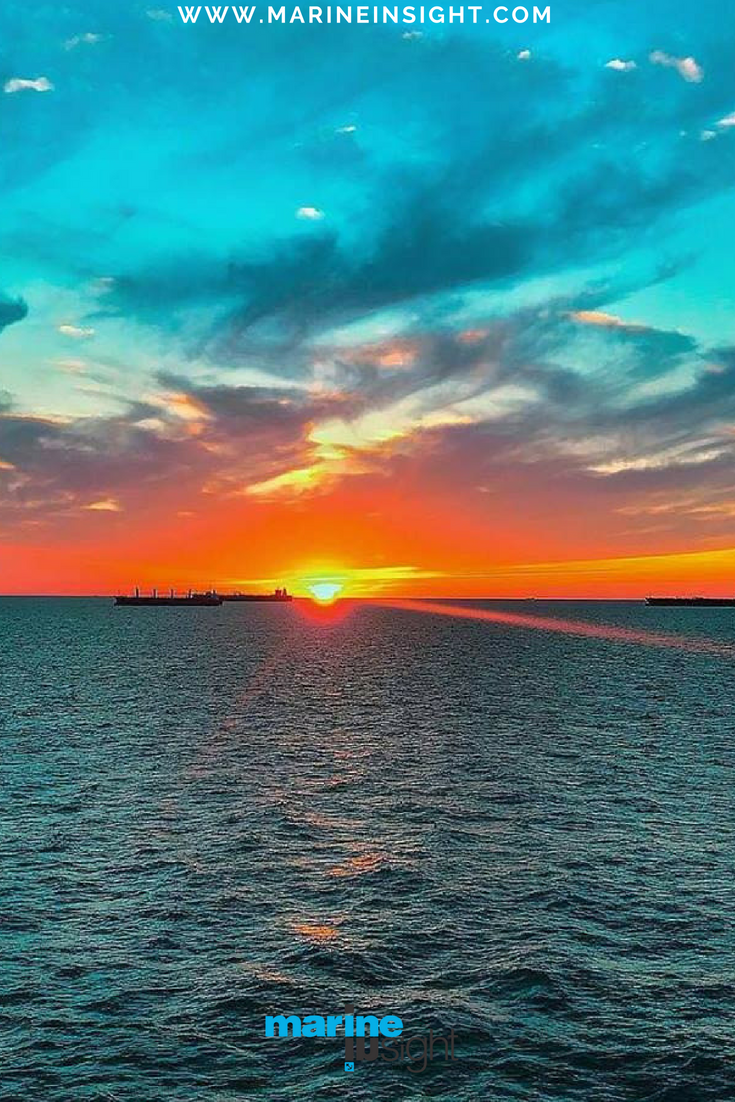 Every Sunset Brings The Promise Of A New Dawn Sunset Sunrise Nature Sea Ship Seaman Photograph By Yakup Kadzal Sea Photography Sunset Sunrise Sunset