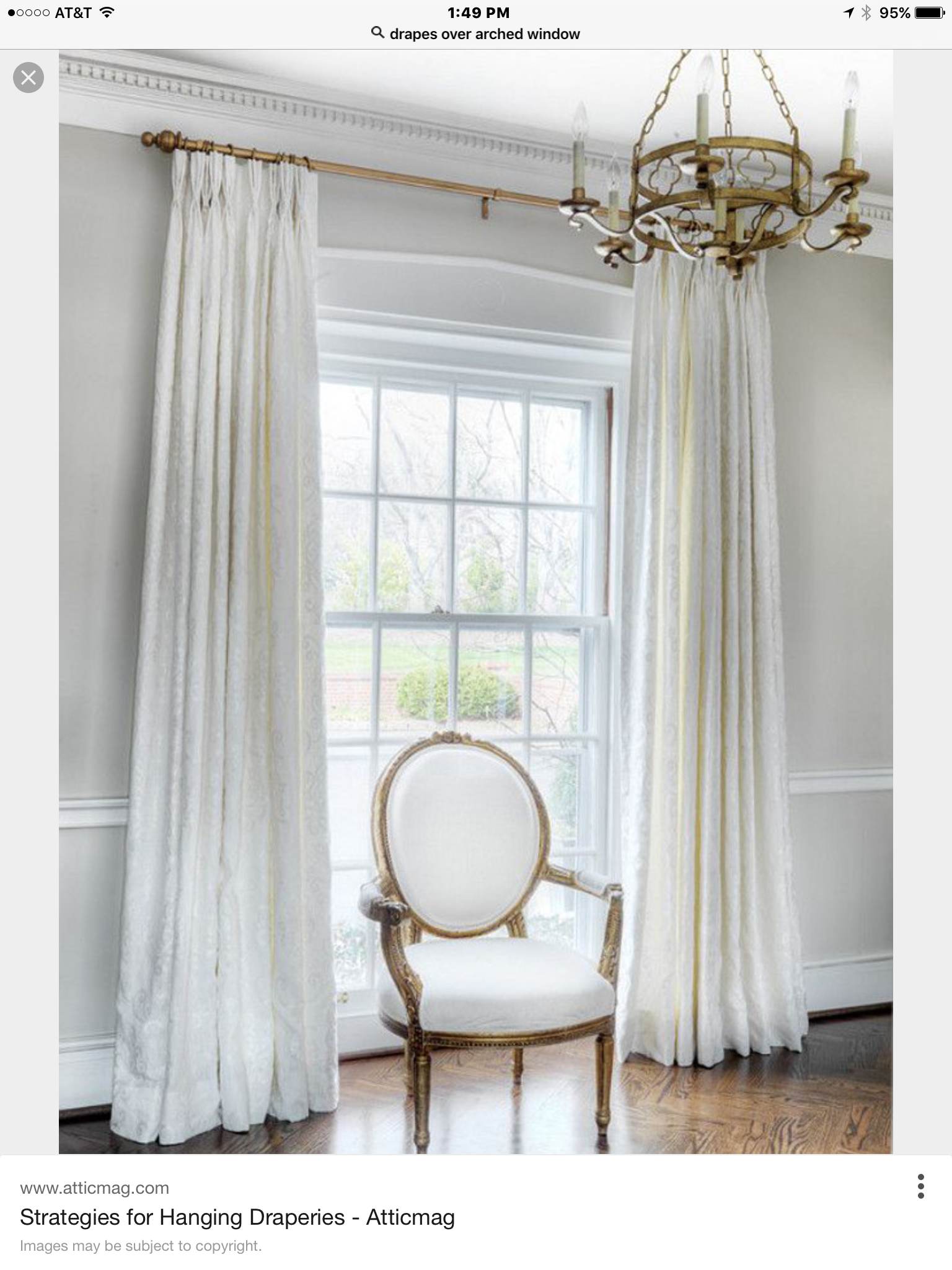 42++ Mounting curtains above window trends