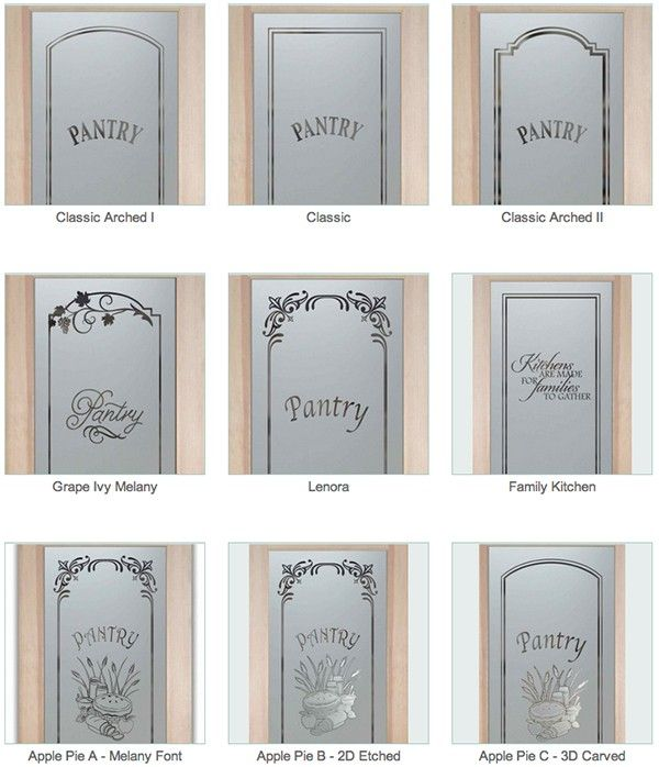 Pantry Doors With Glass Sans Soucie 01 Samples For The