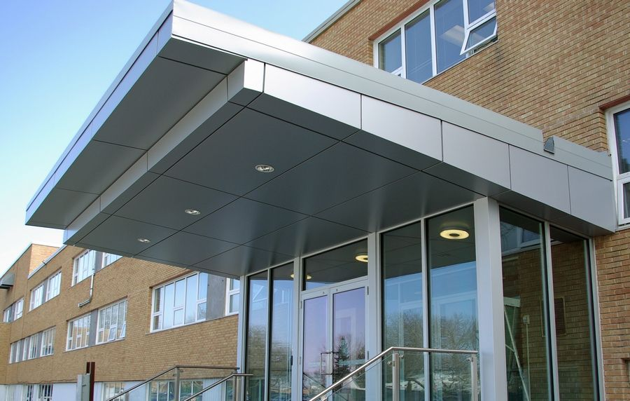 Cfb 17 Wing Rieger Architectural Products Entrance