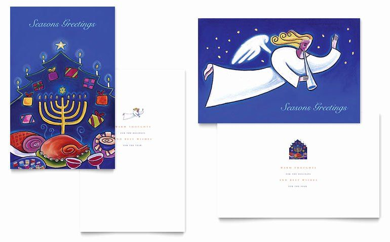 Quarter Fold Card Template Word Elegant Quarter Fold Card Template Word Christmas Card Template Free Greeting Card Templates Birthday Card Template
