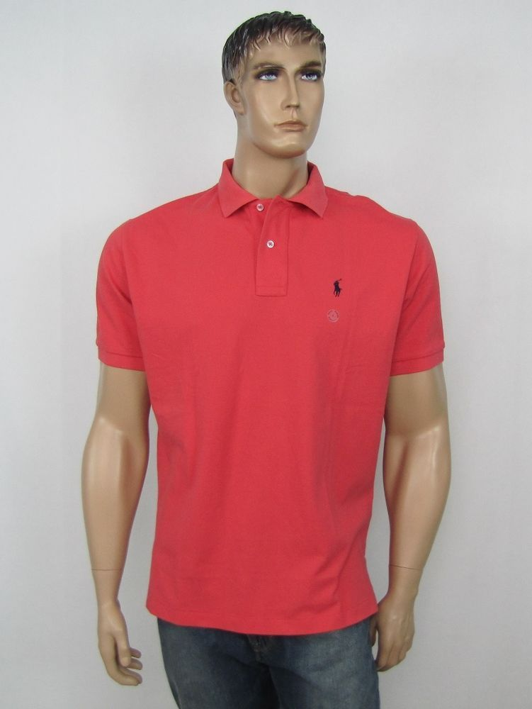 Polo Ralph Lauren polo shirts men\u0027s classic mesh cotton polo size L NEW # PoloRalphLauren #