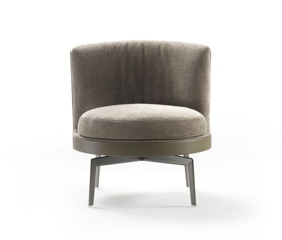 Feel good soft poltroncina di flexform poltrone lounge for Poltrone flexform
