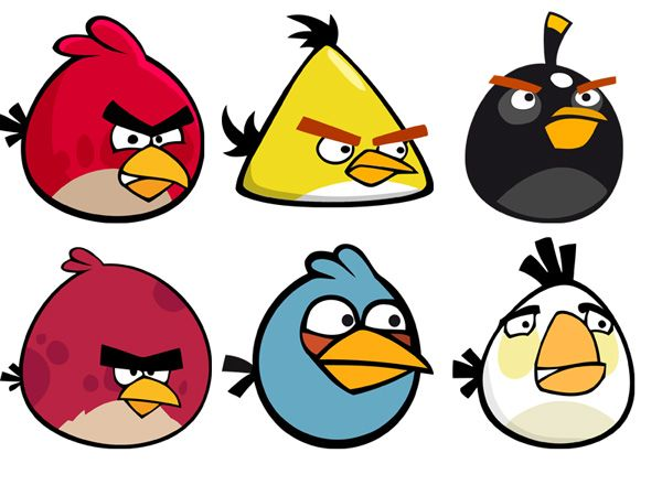 images of angry birds characters