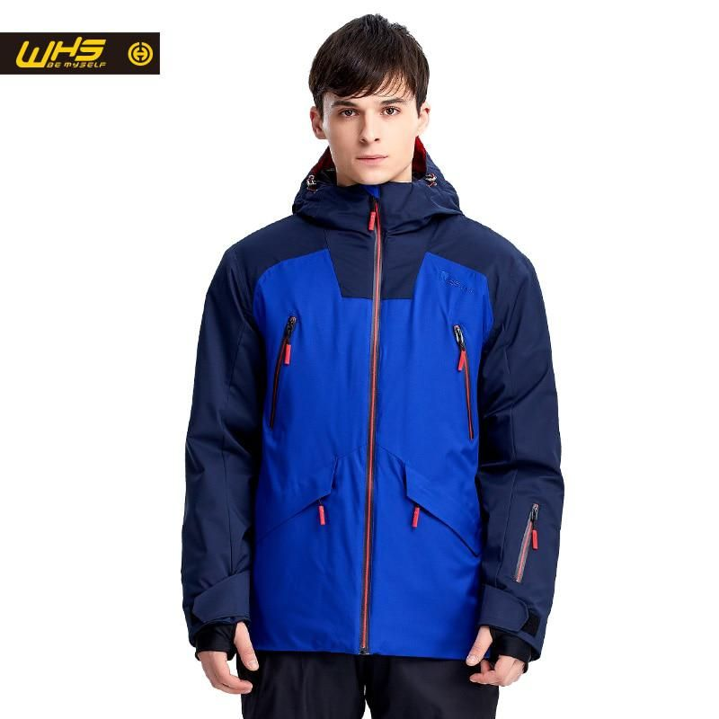 WHS Men snow Jackets Brand Outdoor windproof skiing coat Man snow clothes  sport jacket snowboarding coats e52fbf11e