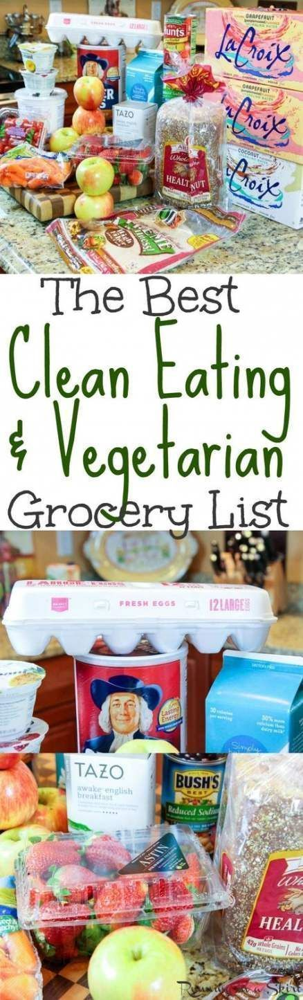 68 Trendy Fitness For Beginners Clean Eating Grocery Lists #cleaneatingforbeginners 68 Trendy Fitnes...