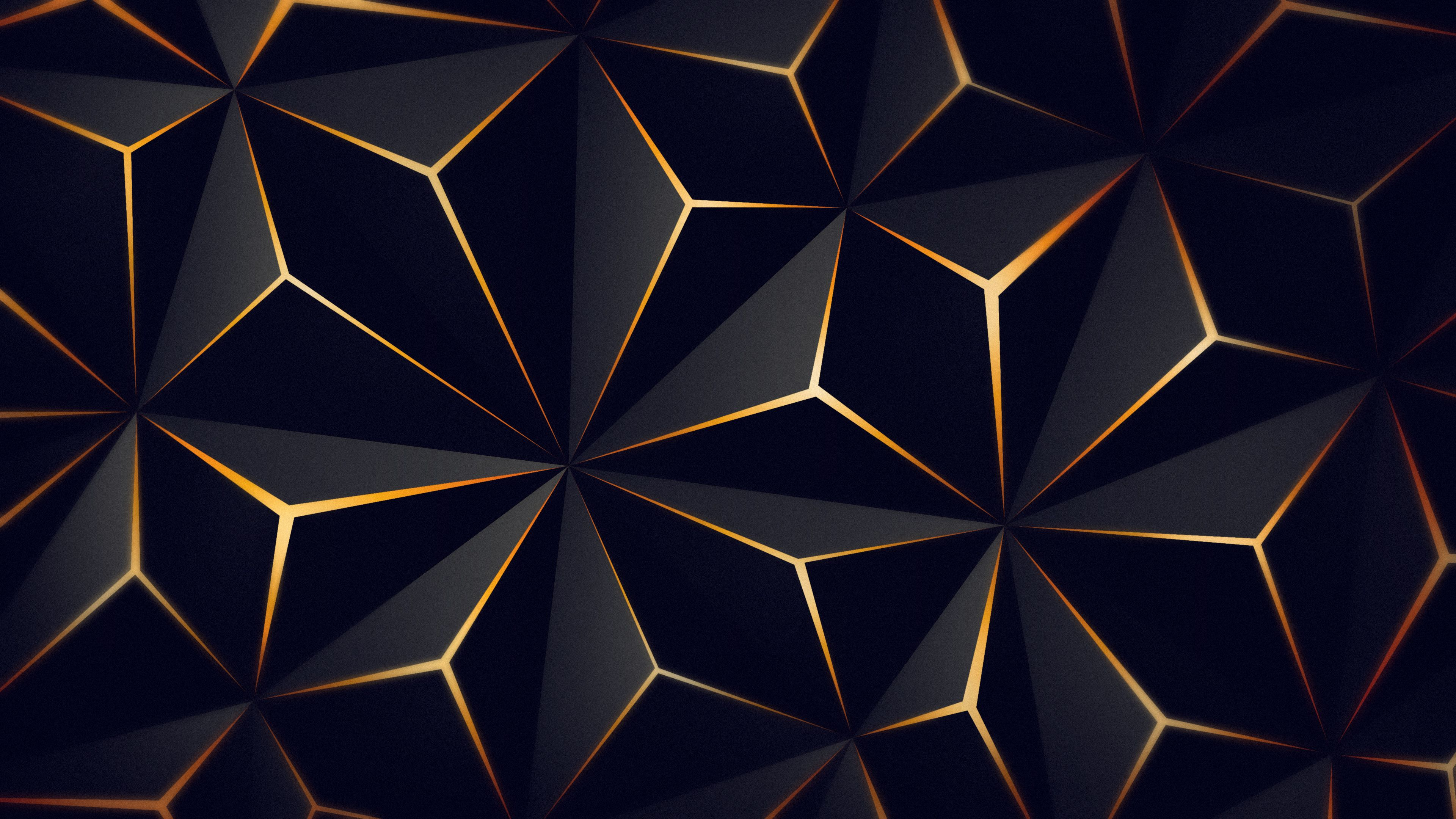 Triangle Solid Black Gold 4k Triangle Solid Black Gold 4k Wallpapers Triangle Black Gold Wallpaper