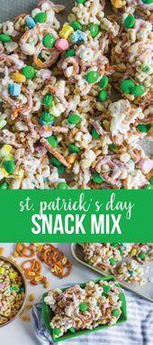St Patricks Day Snack Mix