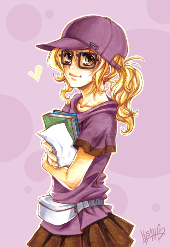 I secretly love nerds.. ;D Im trying to get this to a