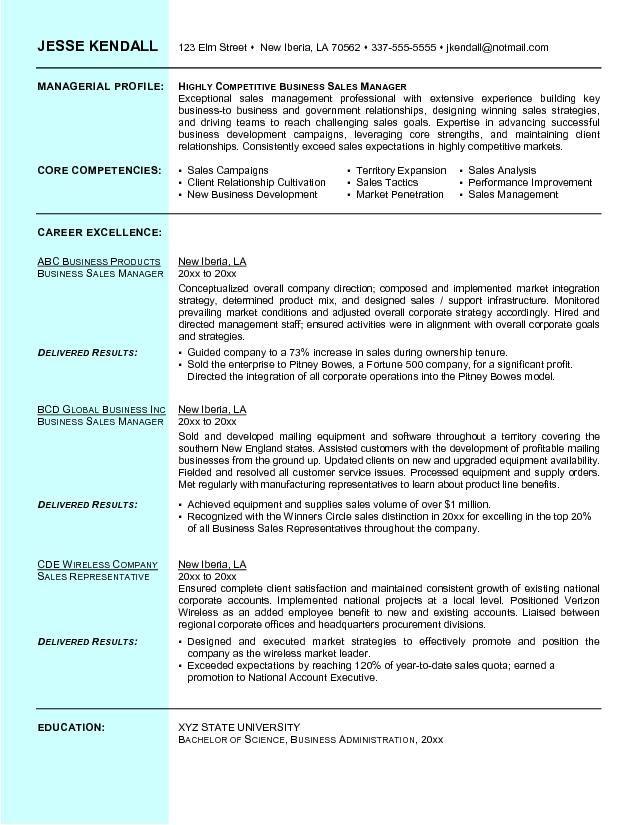 business job resume format    topresume info