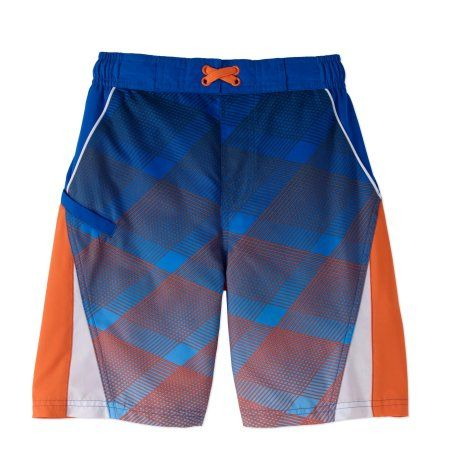 60f96682a60ae Wonder Nation Boys Fashion Swim Short, Blue