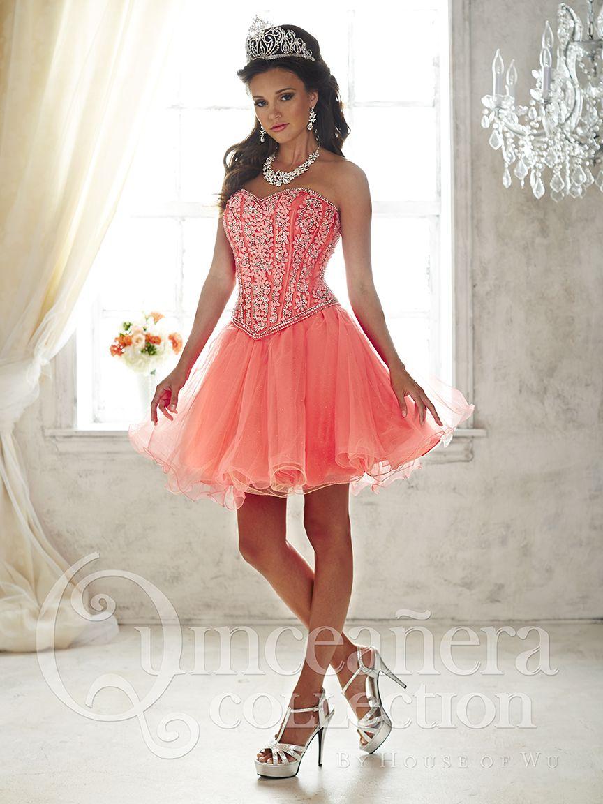 41++ Quinceanera short dress ideas