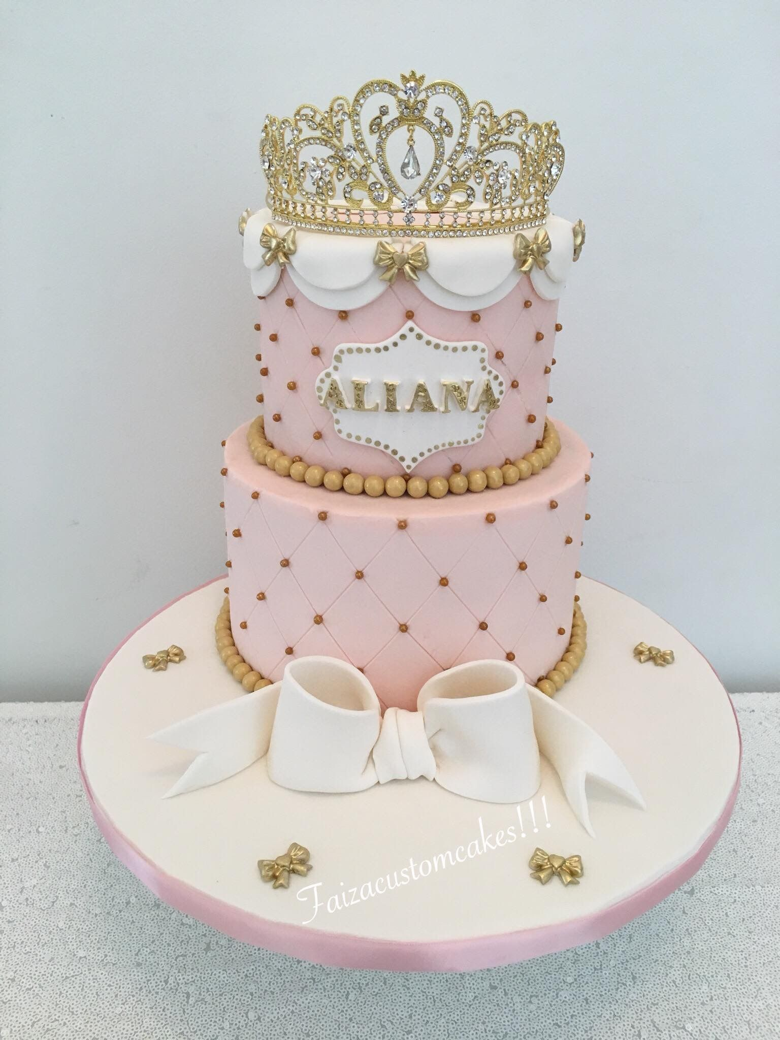 Princess 1st Birthday Cake With Images 1st Bday Cake