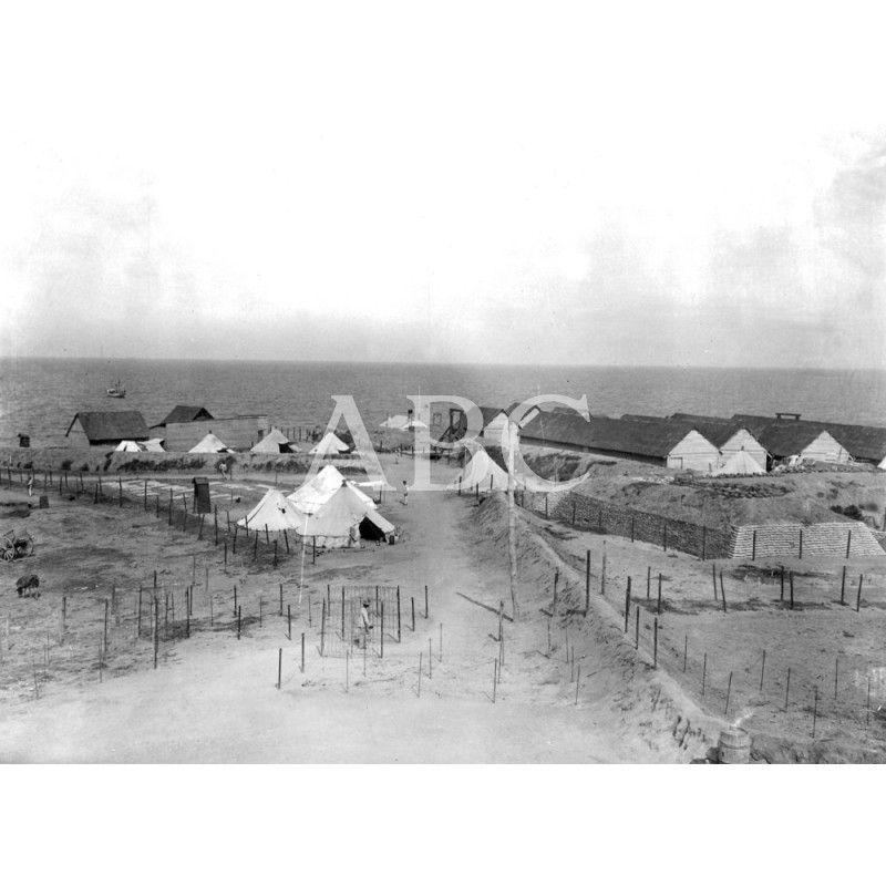 POSESIONES ESPAÑOLAS. VISTA PARCIAL DEL CAMPAMENTO DE LA RESTINGA01/08/1909.: Descarga y compra fotografías históricas en | abcfoto.abc.es
