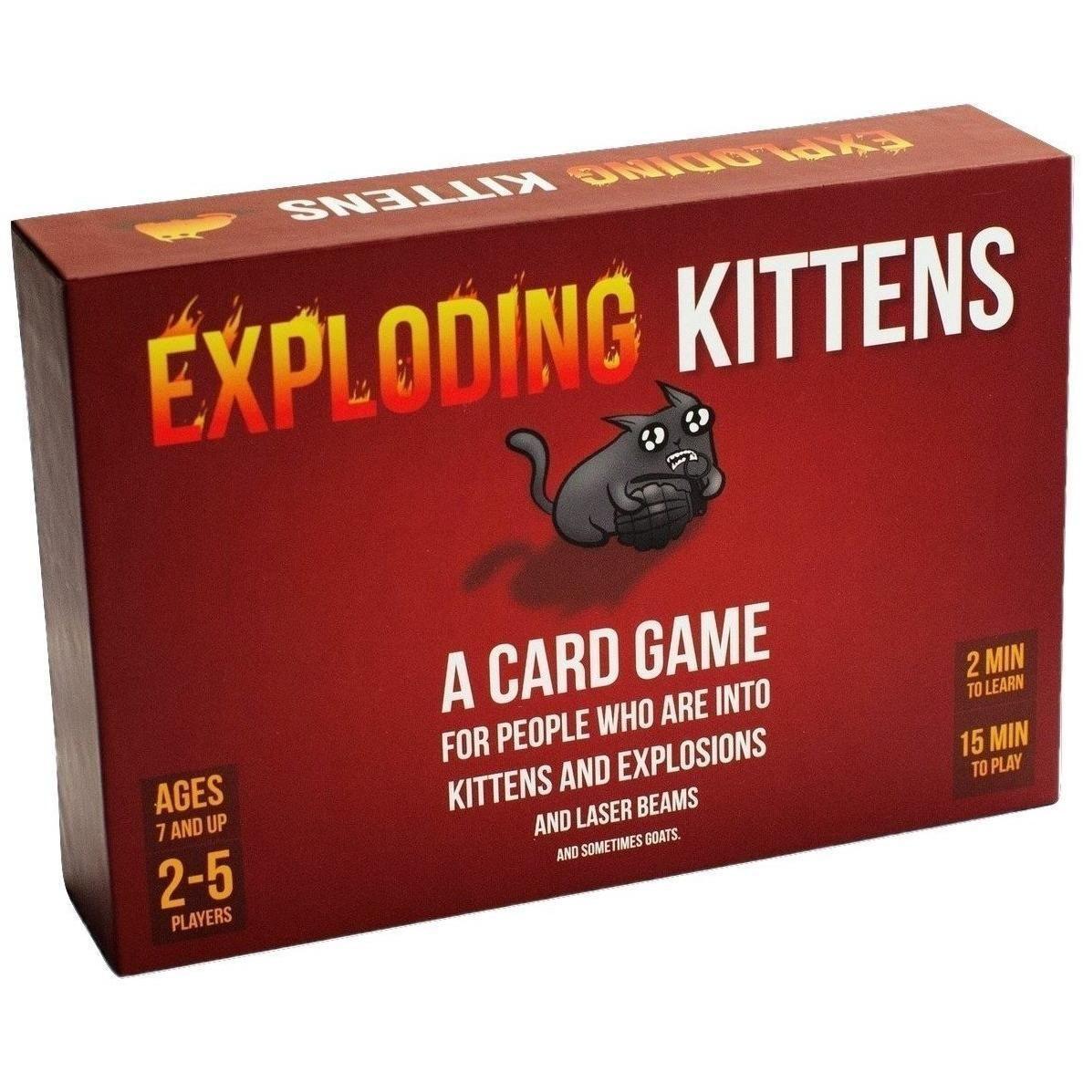 Exploding kittens game exploding kittens card game