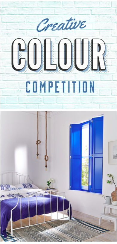 Do you have Britain or Irelands's most creatively coloured home? You could win some great prizes with @hillarysblinds click to enter now!