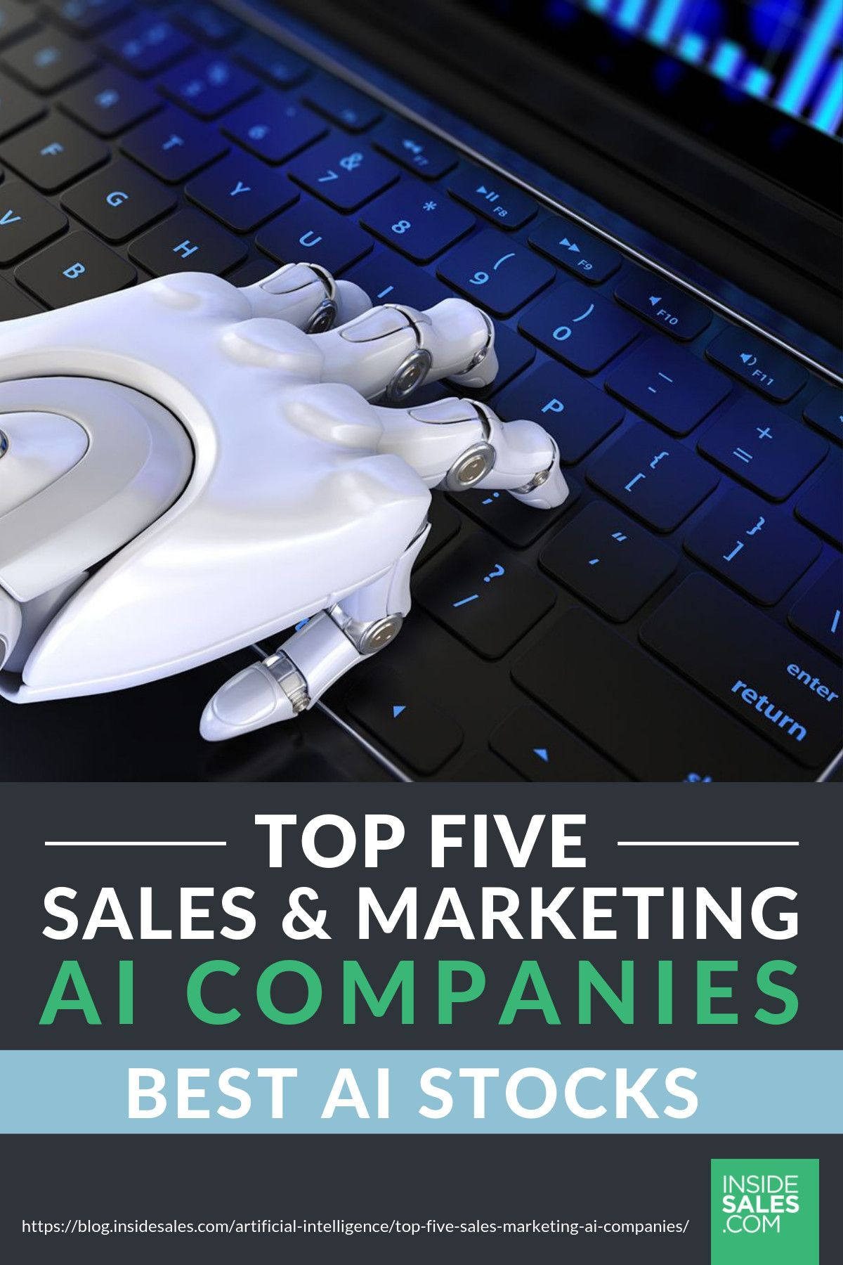 Top Five Sales And Marketing Ai Companies Sales And Marketing