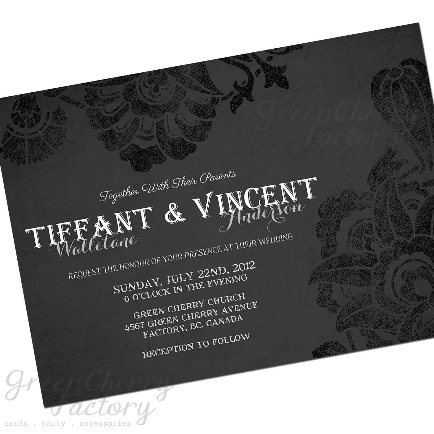 gothic wedding invitations wording - Picture Ideas References