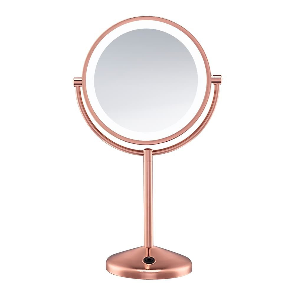 Conair Reflections Led Rose Gold Makeup Mirror In 2020 Led Makeup Mirror Mirror Makeup