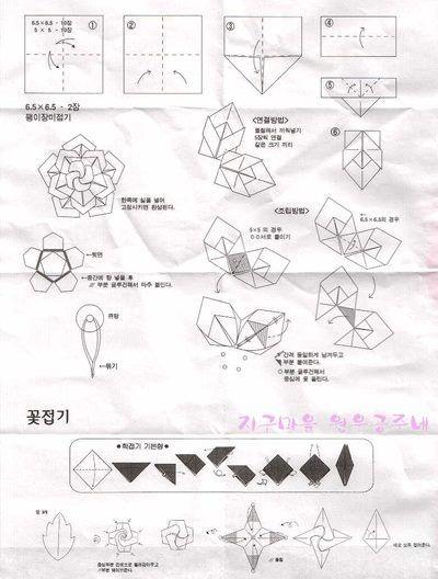 pin de papirhola en origami flowers