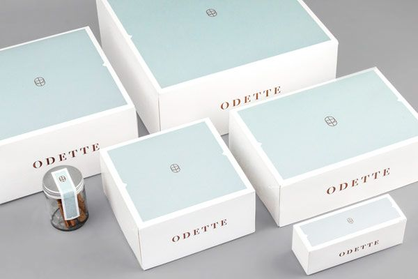 Odette Bakery Branding and Packaging by Dmowski & Co.