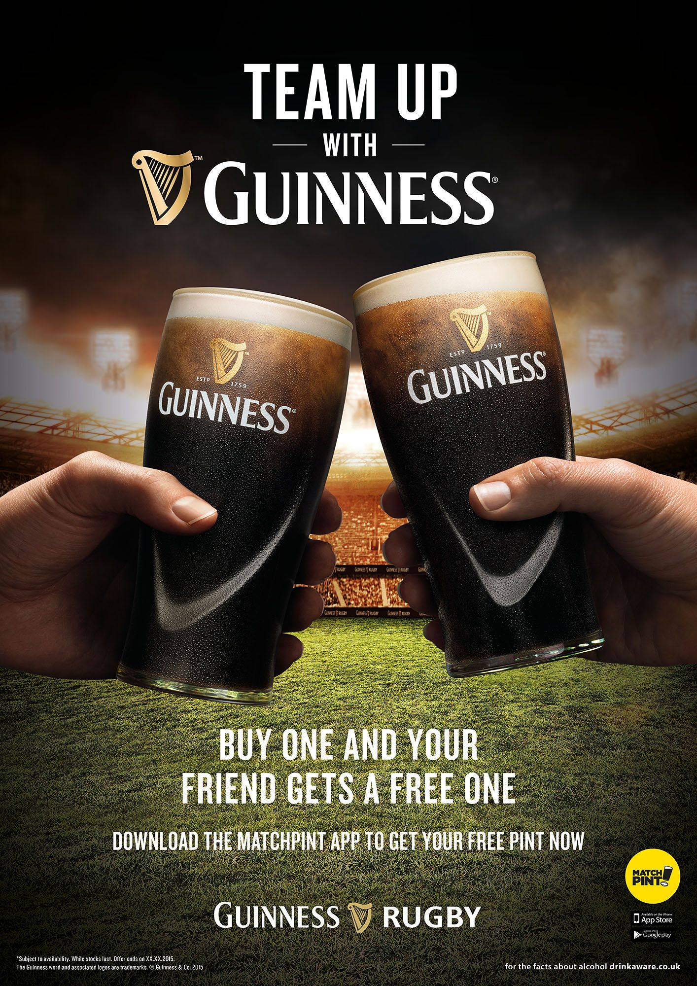 Guinness X Rugby World Cup Campaign Shot By Jonathan Knowles Guinness Rugby Beer Stout Ireland England Sport Worldcup Beer Guinness Pilsner Glass