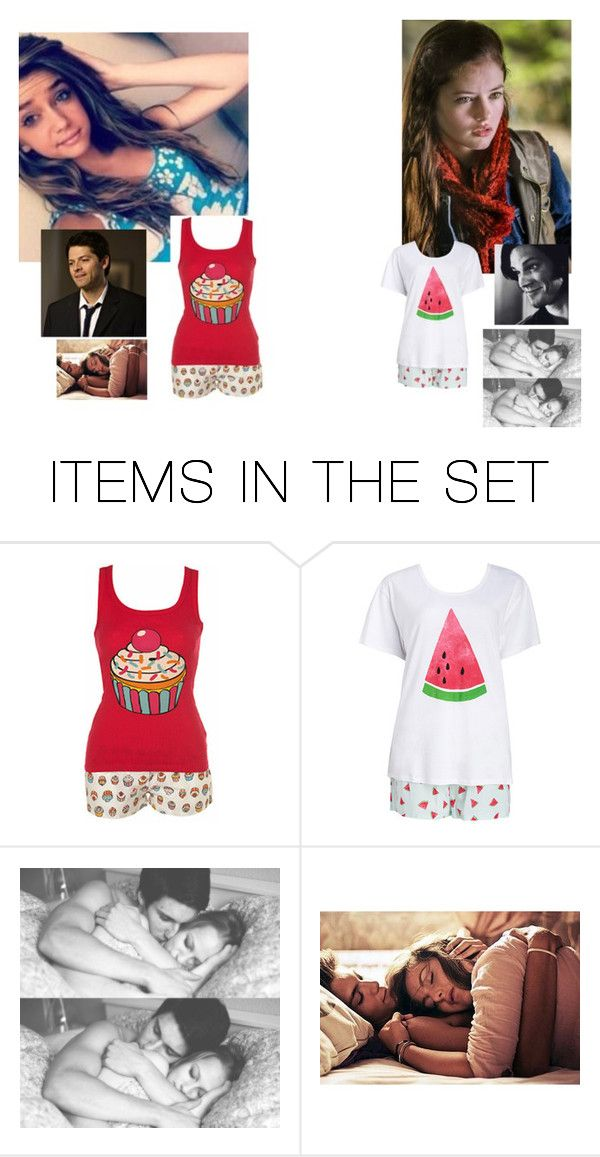 """""""~anna and samantha"""" by supernatural-fan-1999 ❤ liked on Polyvore featuring art"""