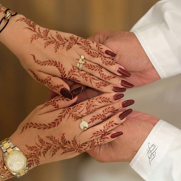 شاركونا حناء العيد شرايكم بالنقش اكتب شی تؤجر علیه Mashael Pretty Henna Designs Arabic Henna Designs Henna Designs