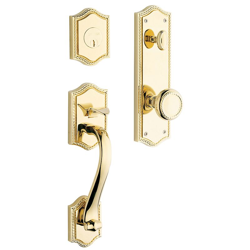 Baldwin 6420 Bristol Sectional Egress Handleset Tubular Entry Set