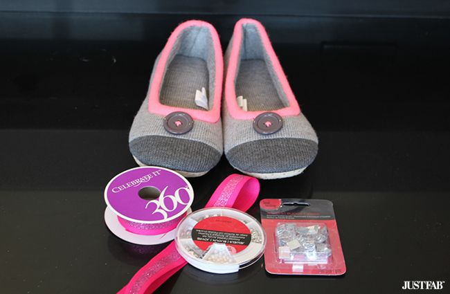 cute diy slippers