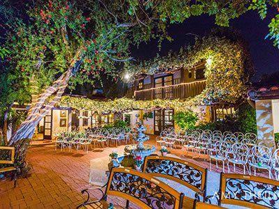 The Hacienda Orange County Garden Wedding Venue Santa Ana Ca