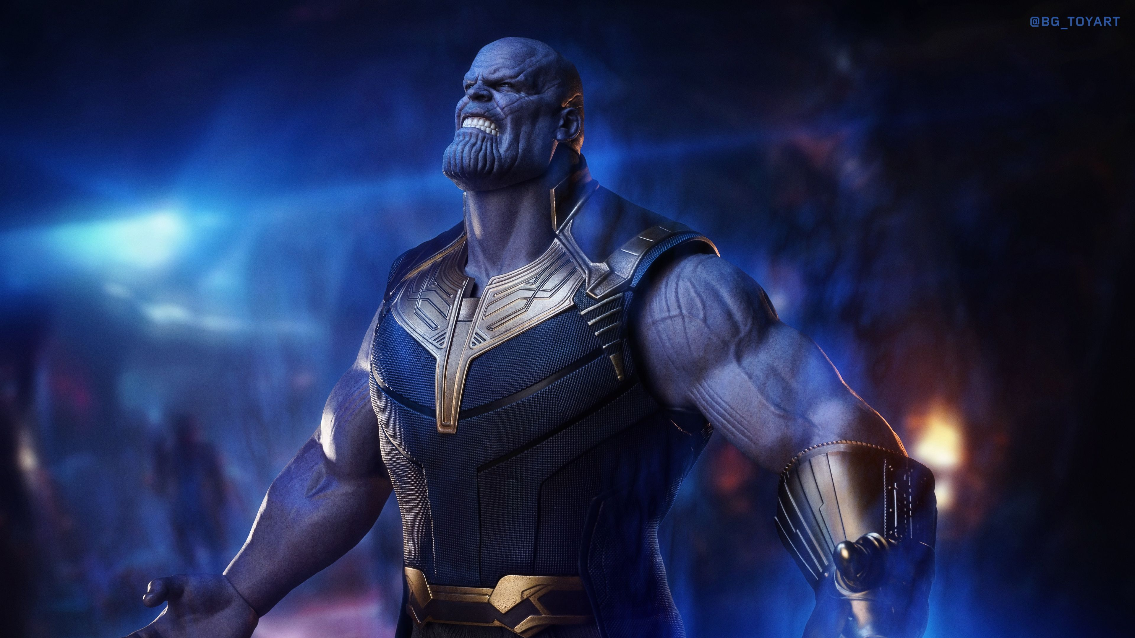 Thanos The Mad Titan 4k Thanos Wallpapers Superheroes Wallpapers Hd Wallpapers Digital Art Wallpapers Artwork Wallpape Superhero Hd Wallpaper Art Wallpaper