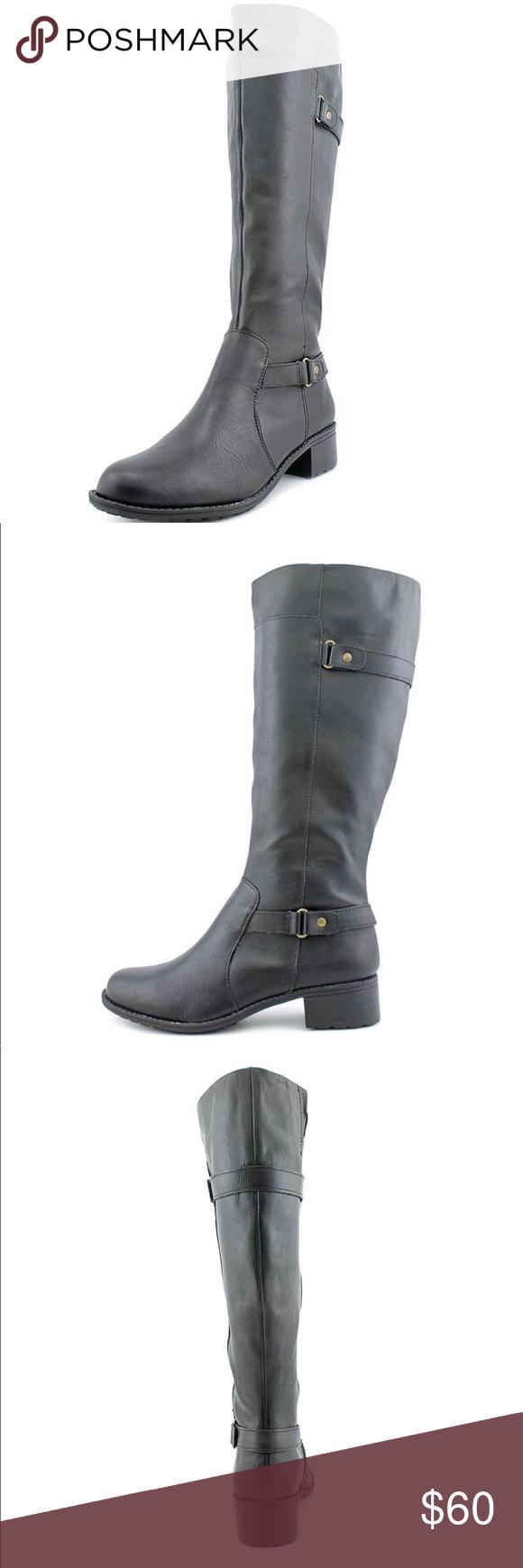 c664fdf95f6 Easy Spirit Labarca Tall Knee High Riding Boots Easy Spirit Labarca Tall  Knee High Riding Boot