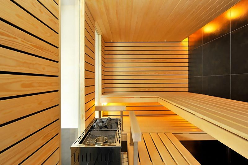 sauna design in contemporary wooden style saunad saunas pinterest sauna design saunas. Black Bedroom Furniture Sets. Home Design Ideas