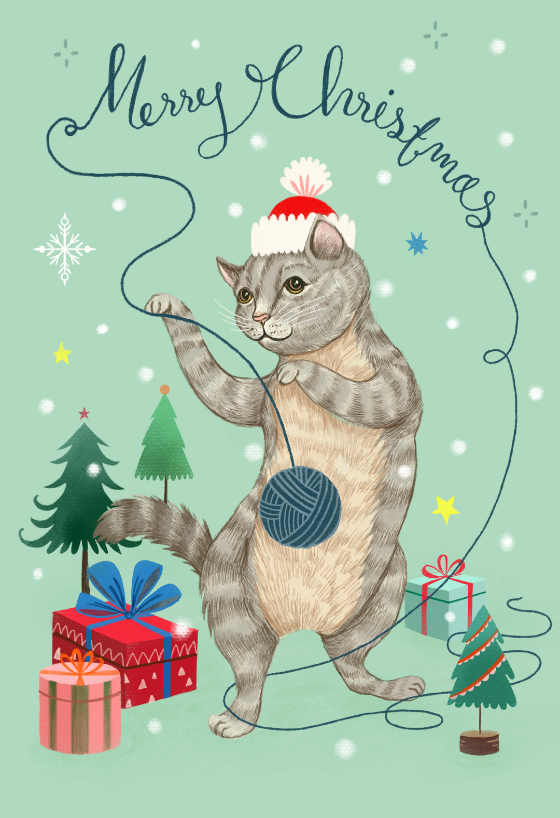 Christmas Cat Christmas Card Greetings Island Cat Christmas Cards Christmas Cards Free Christmas Cats