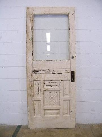 Salvaged Victorian Entry Door Architectural Salvage Victorian And