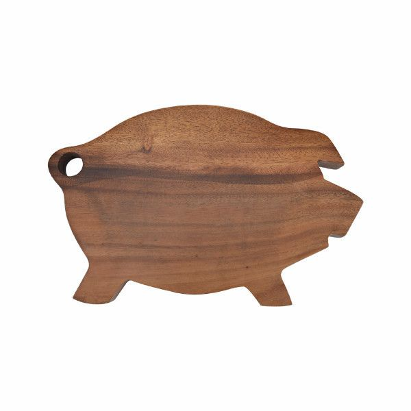 Madera Y Resina Wood Pig Wooden Serving Boards Wood Detail