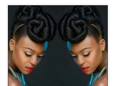 Natural Hair Teyonah Parris Inspired Updo Youtube Natural Hair Updo Natural Hair Styles Curly Hair Styles