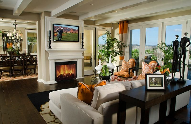 Tv Above Fireplace Design Ideas Living Room With Fireplace Family Room Design Tv Above Fireplace
