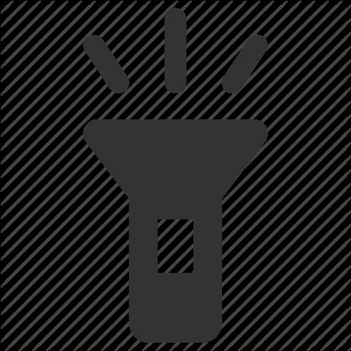 Flashlight Light Spotlight Torch Icon Download On Iconfinder Flashlight Icon Torch
