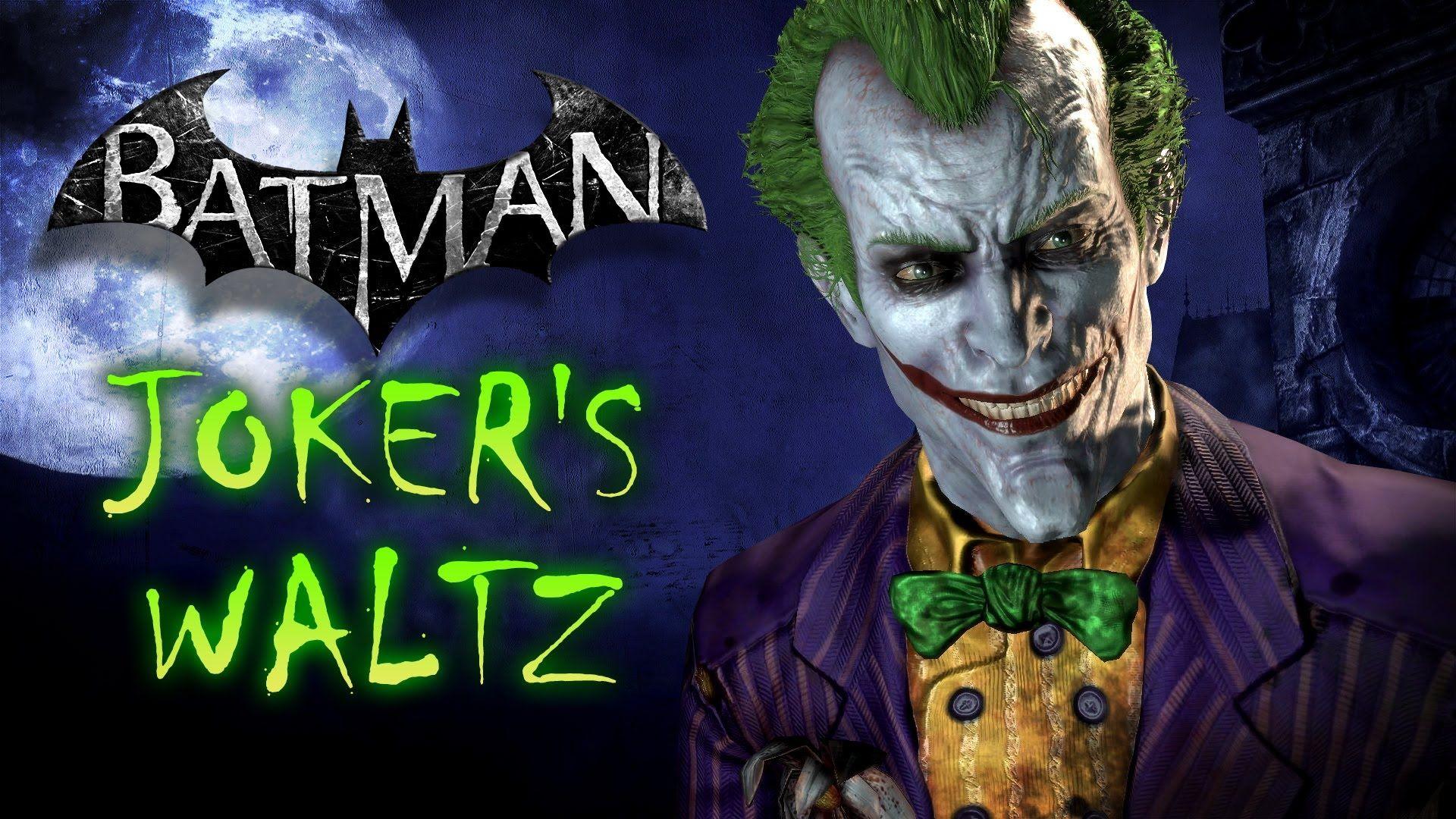 Joker's Waltz - Batman: Arkham Asylum   Comics & Stuff ...