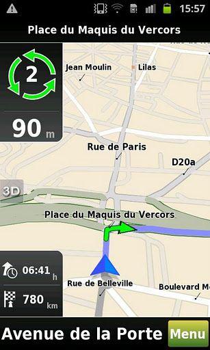 Mappy GPS Free Un GPS Gratuit  Mappy GPS Free est une application
