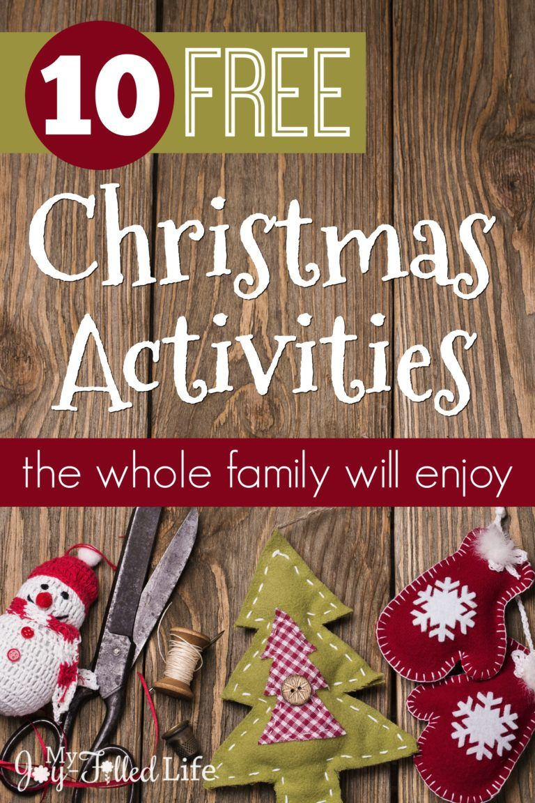 Free Christmas Craft Ideas For Kids Part - 31: 10 Free Christmas Activities The Whole Family Will Enjoy
