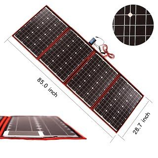 Review Dokio 200 Watts 12 Volts Monocrystalline Foldable Solar Panel With Charge Controller Jumpstarter To View Furt Solar Panels Solar Solar Panel Cost